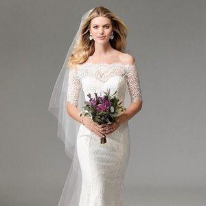 Watters WToo Savannah Dress New Wedding Dress
